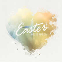 Easter Love Social Graphic Set