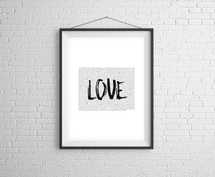 Love Overcame Law Digital Print