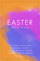 11x17 Easter Invitation Flyer / Poster