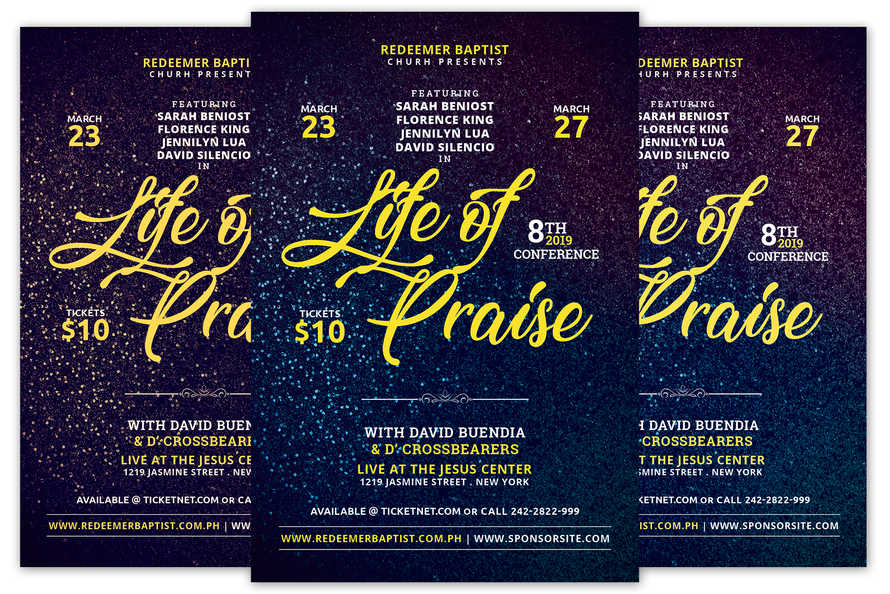 Life of Praise Church Flyer