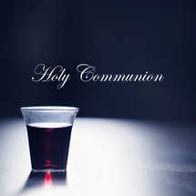 Holy Communion Wine Cup