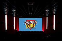 Super Dad Slide Set