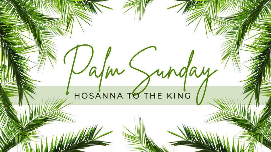 Palm Sunday Slide Set