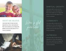 City Church Trifold Letter Brochure