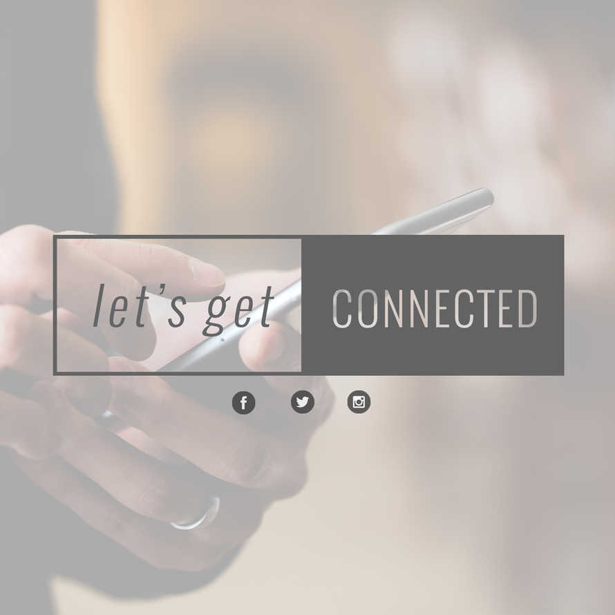 Get Connected Social Graphic Sets