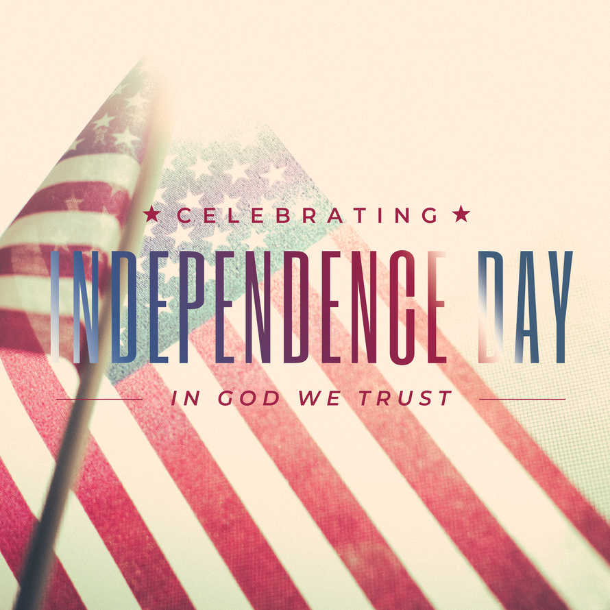 Independence Day Social Graphic Set
