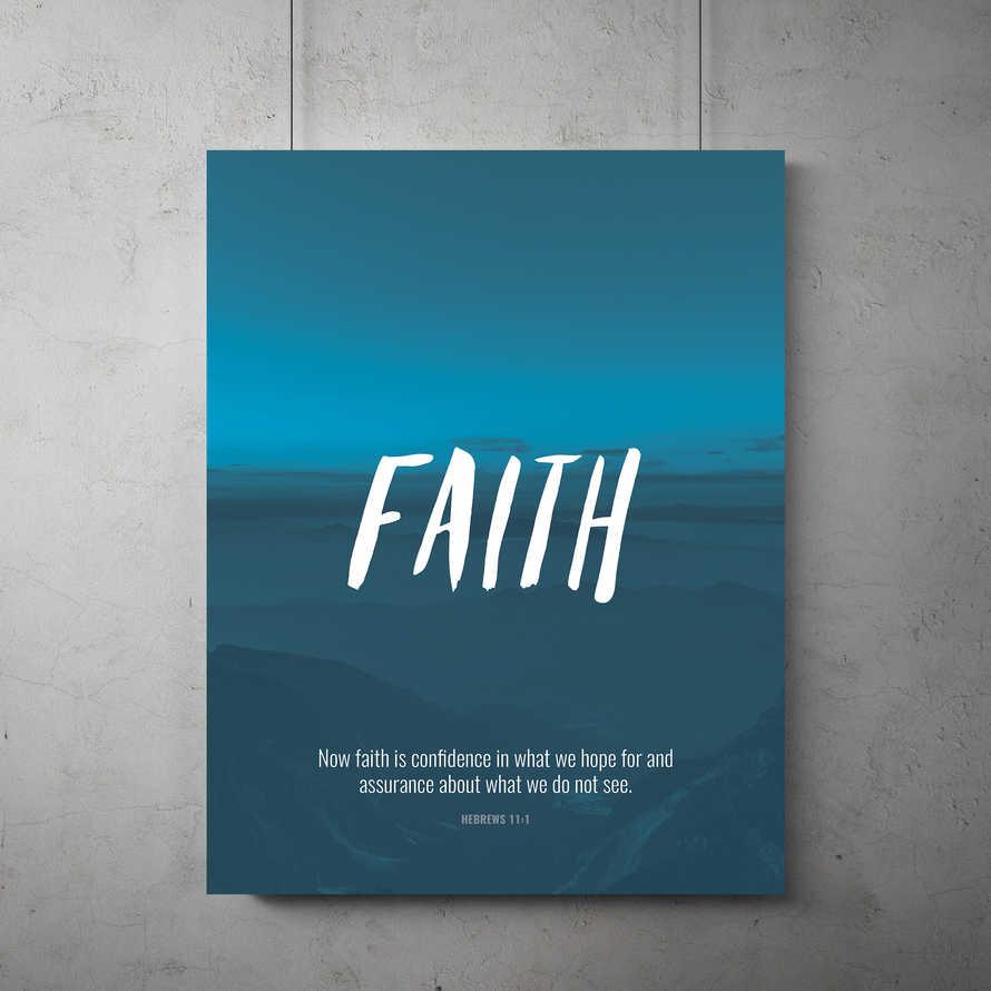 Faith Flyer Template