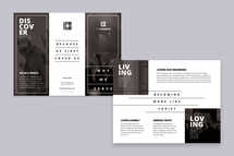Why We Serve TriFold Brochure Template
