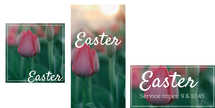 Easter Flower Invite