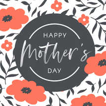 Mother's Day Social Graphic Set