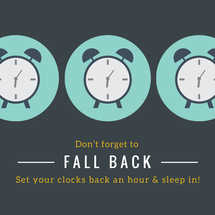 Fall Back Social Graphic