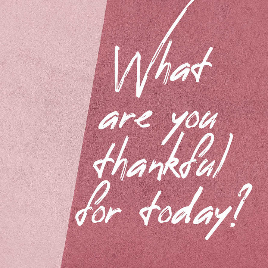 Thankful social graphic