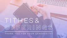 Tithes & Offerings Slide
