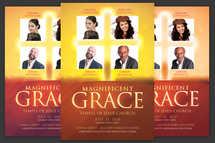 Magnificent Grace Church Flyer