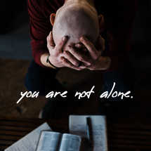 you are not alone social graphic