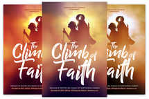 The Climb of Faith Church Flyer