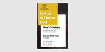Men's Ministry Flyer Invitation