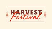 Harvest Festival Slide Design