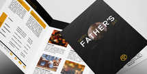 Father's Day Modern brochure - 8.5x11 half fold