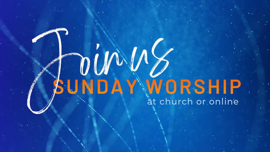 Join Us At Church or Online Slide Set