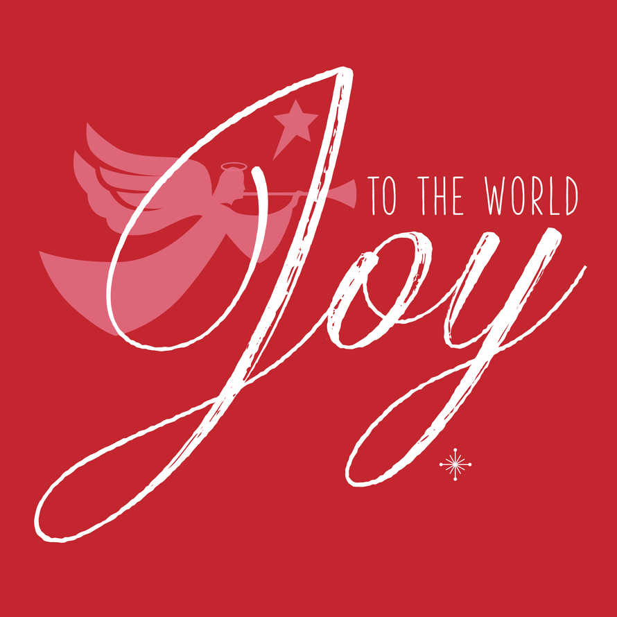 Joy to the World Angel Social Graphic Set