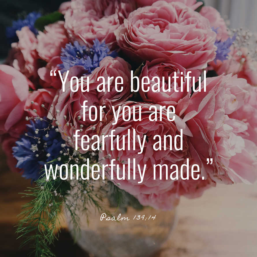 You Are Beautiful Social Media Graphics