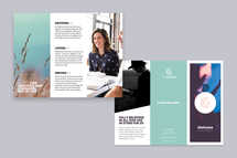 Modern About TriFold Brochure