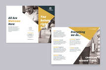 You Belong TriFold Brochure Template