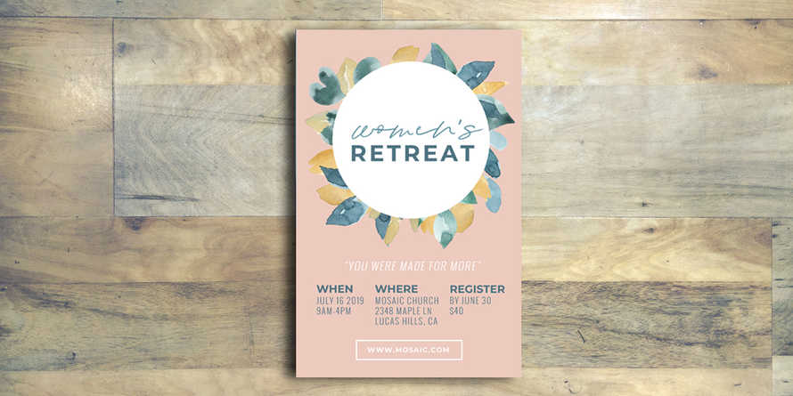 Women's Retreat Flyer
