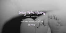 Baby/Child Dedications Pack