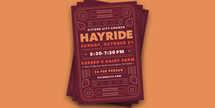 Hayride Flyer