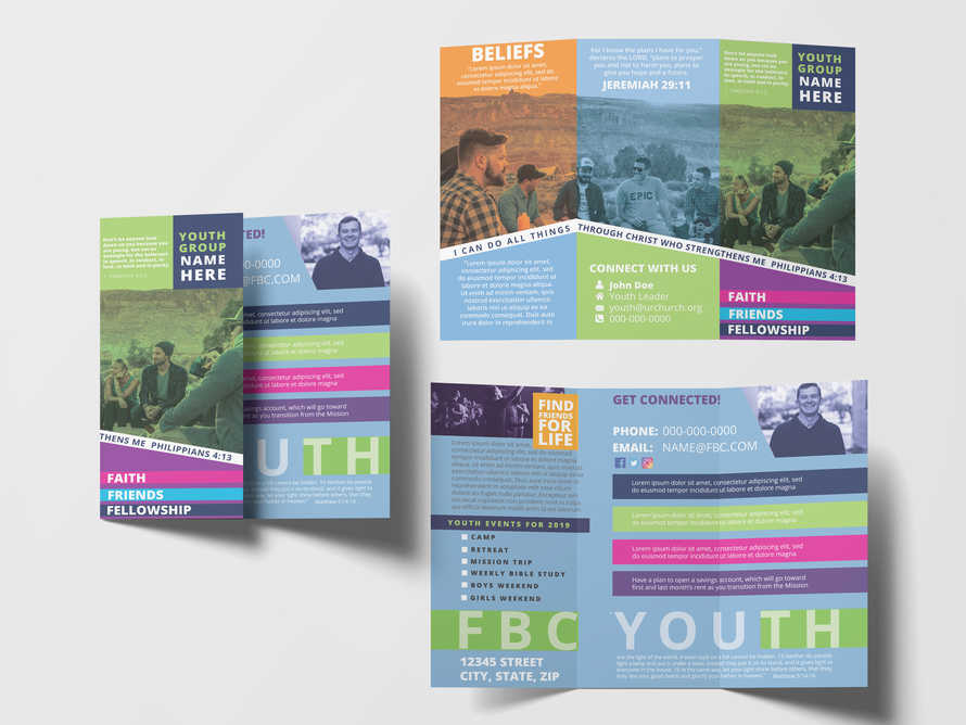 Student Youth Ministry Brochure