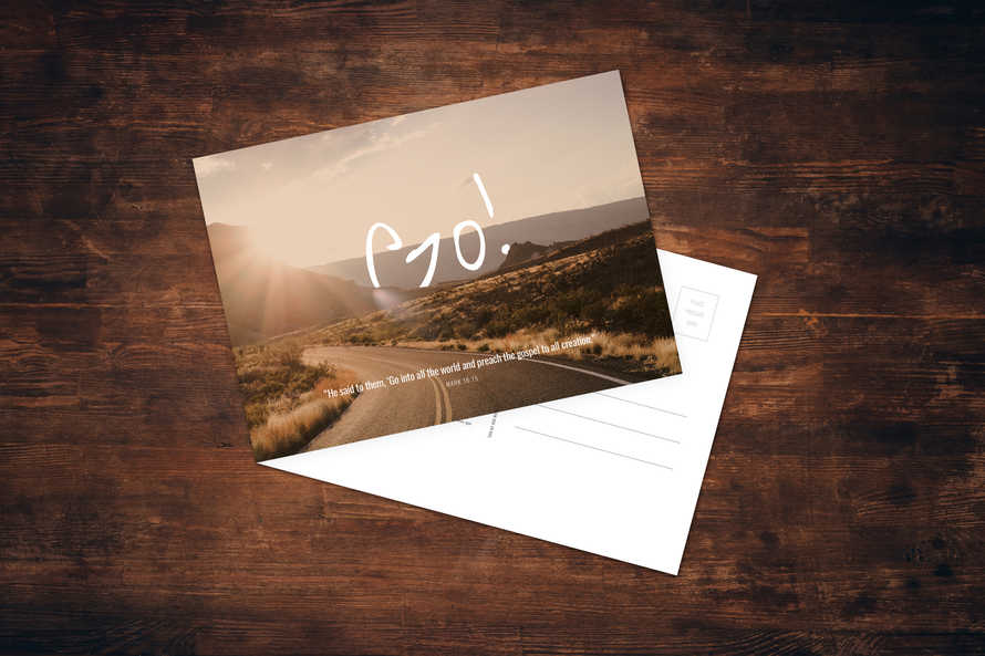 GO Postcard