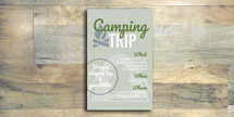 Camping Flyer