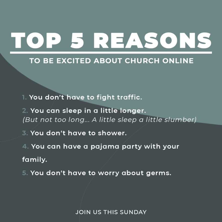 Top Five Reasons