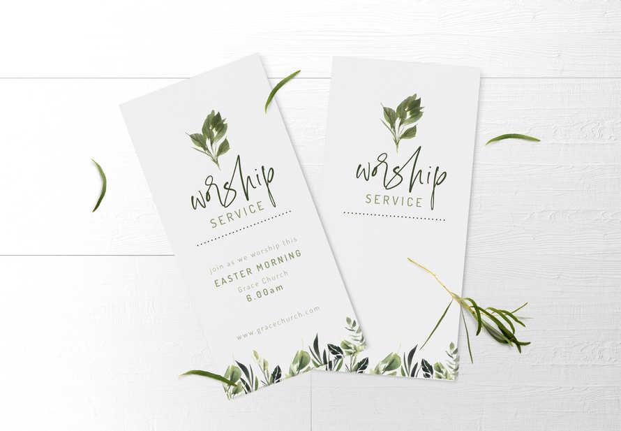 Worship Service Invite