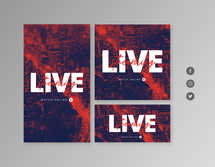 Live Streaming Watch Online Social Graphics