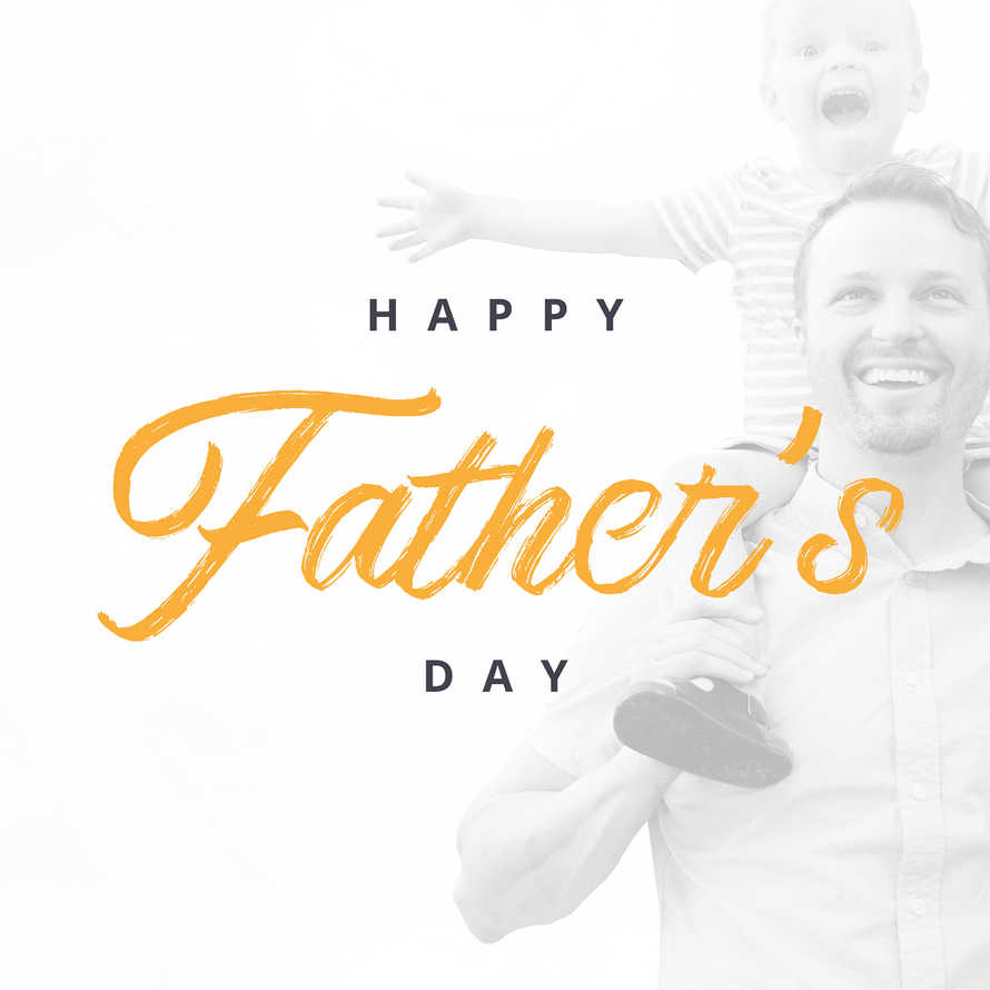 Happy Father's Day 2 Social Graphic