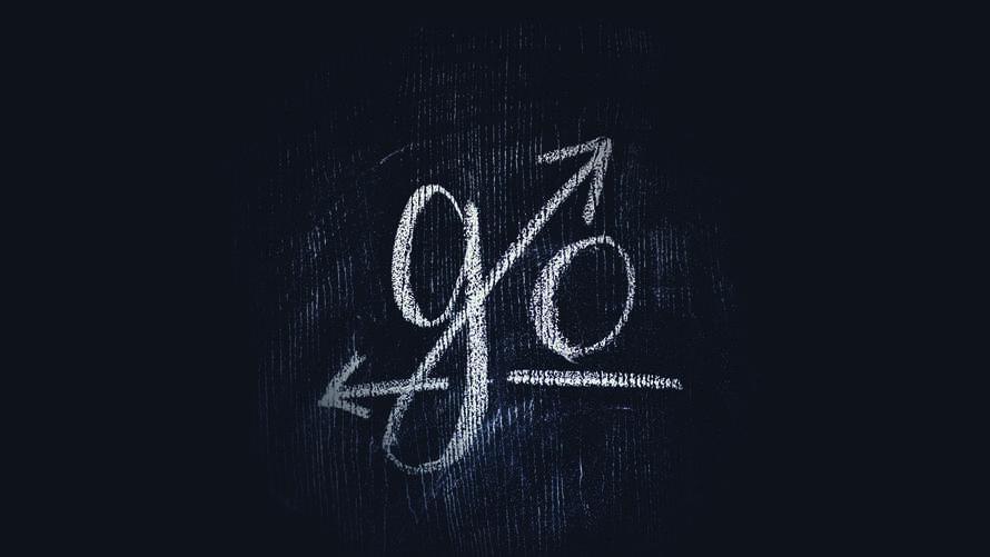 """Go"" Hand Lettered Chalkboard Slide"
