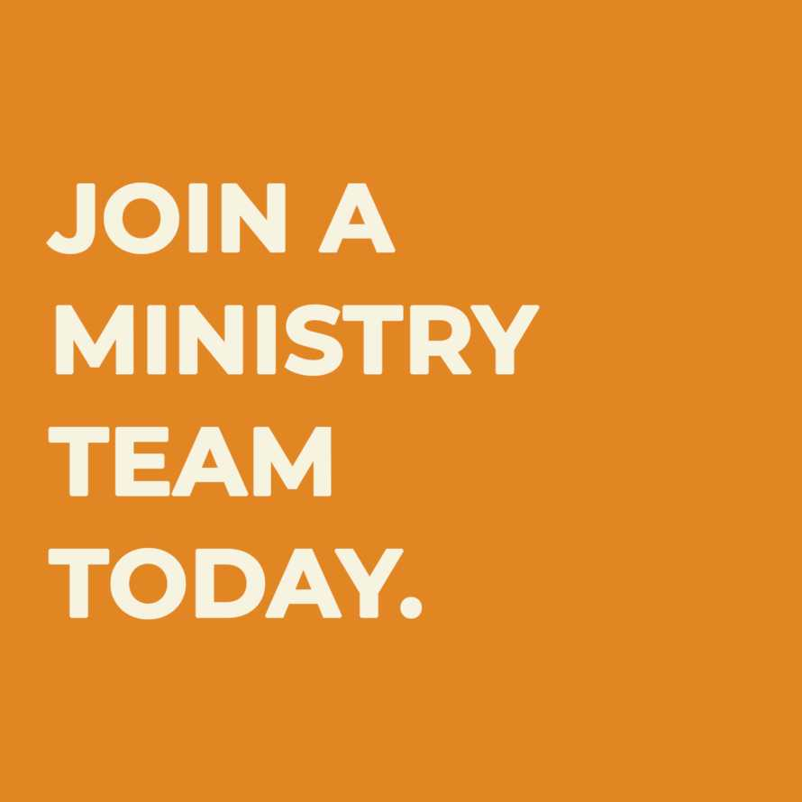 Join a Ministry Team