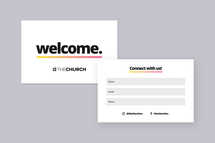 Welcome Connection Card