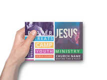 Student Youth Ministry Postcard Template