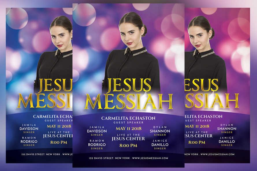 Jesus Messiah Church Event Flyer