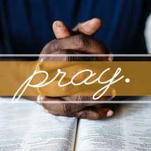 Pray Social Graphic