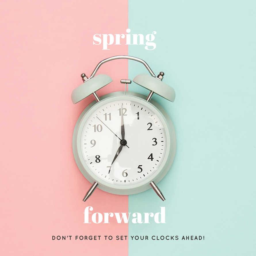 Spring Forward Social Media Set