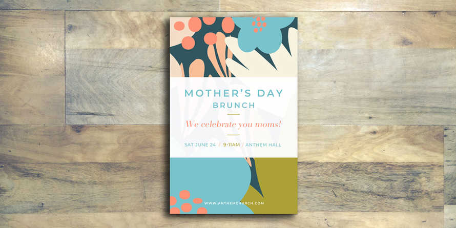 Mother's Day Flyer
