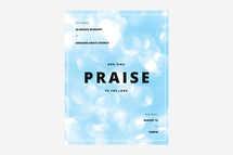 Praise Flyer Template