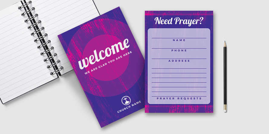 Prayer Request Connection Card