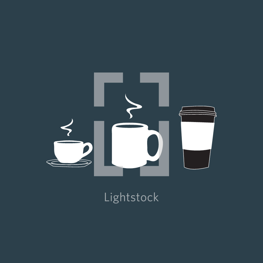 coffee mug illustrations