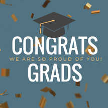 Graduation Social Graphic Set